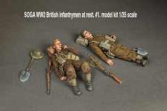 SOGA-WW2-British-infantrymen-at-rest.-1.-model-kit-135-scale