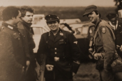John, Mike and Paul at a re-enactment in Birmingham circa 1979