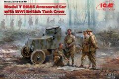 Icm-1-35-Model-T-RNAS-Armoured-Car-with-Crew-Model-Kit