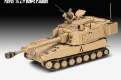 Revell-1-72-M109A6-Paladin-Model-Kit