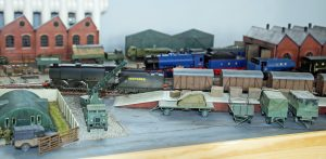 Mike Gill's Longmoor Military Railway layout