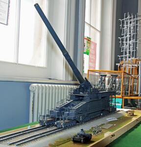 Peter Denyer's Dora rail gun
