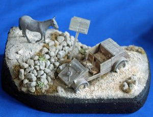 Paul Hennessy's  little Kubelwagen diorama