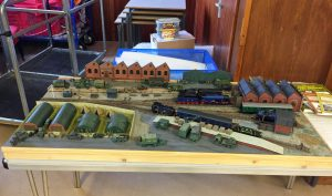 And last but by no means least, here's Mike Gill's 1/76th scale diorama of Longmoor Military Railway