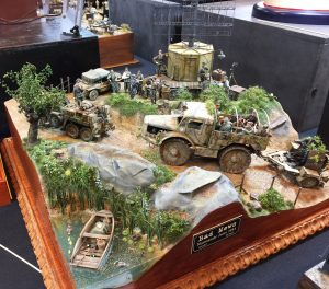 An unusual looking WWII German diorama