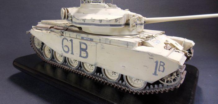 Paul Badman's Suez Centurion – now finished