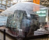 Mephisto, the only remaining German A7V tank from World War I, kept safe in a bubble in Australia