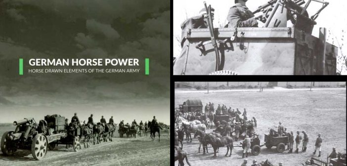 German Horse Power – Horse drawn elements of the German Army – review of  Camera On book