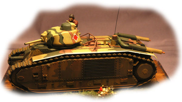 Char B1 BIS build by Jim Mesko