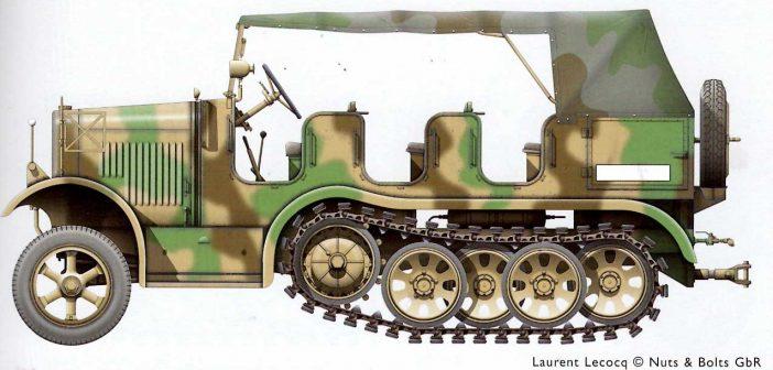 Review: Nuts & Bolts 39  – Sd.Kfz.6 : 5-ton Zugkraftwagen Büssing-NAG and variants