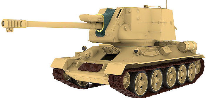 New Egyptian T-34/122  from Rye Field Models