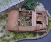 Paul Badman's  early Bergepanzer 38 rust project