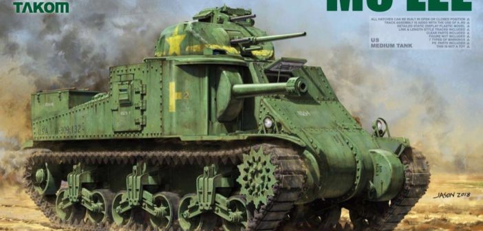 Mid-Production M3 Lee coming from Takom