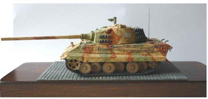 Chris Preston's E-50 Medium Tank with 105 Gun in 1/72