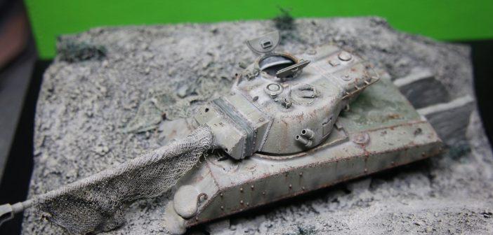 Post War Competition: Simon Titterington's Sherman M50 bunker