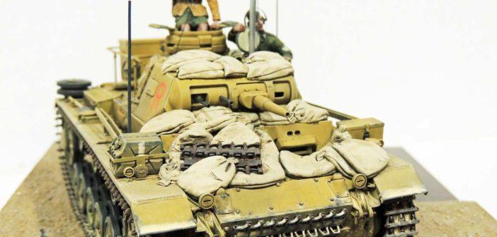 Mark Ford's Afrika Korps Command Tank