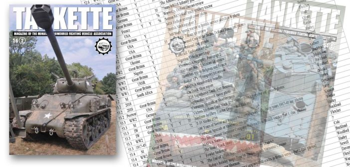 Tankette Index Updated