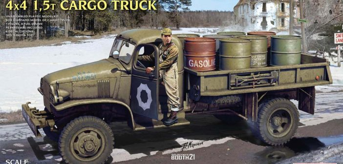 MiniArt to release Chevy G7107 truck kit
