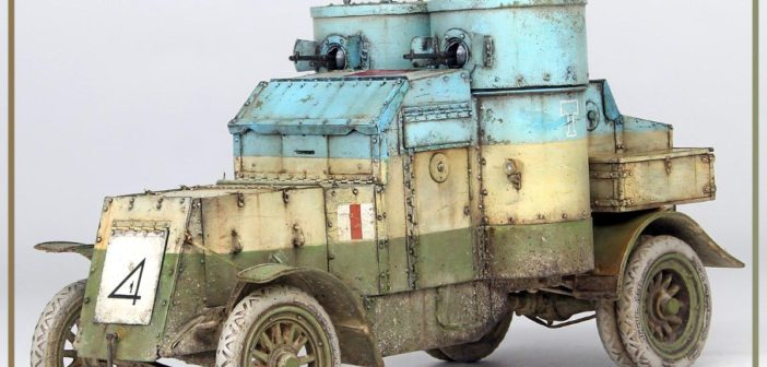 Mini Art's Austin Armoured Car – Western Front 1918 Pattern