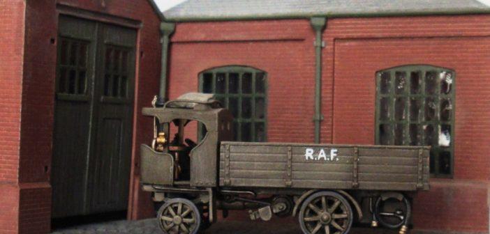 Adam Craske's Steam Lorries